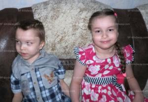 Медковы Анна и Даниил